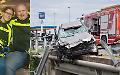 Terribile schianto auto-moto, due morti