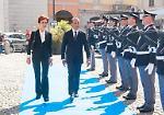 La celebrazione del 164° anniversario della fondazione della polizia