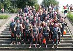FOTO Le immagini della maratona di nuoto lungo il Po tra Cremona e Casalmaggiore