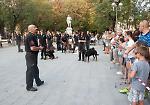 FOTO Lo spettacolo cinofilo solidale in piazza Roma a Cremona