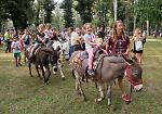 FOTO Colonie Padane, festa nel parco 'rinato'