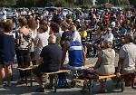 L'inaugurazione del 'Cristo di Italo' al Bosco ex Parmigiano