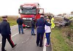 FOTO Il terribile incidente mortale lungo la Sabbionetana a Gazzuolo