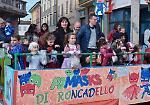 FOTO Carnevale, i carri di Roncadello e Cicognara sfilano a Casalmaggiore
