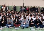 L'evento Mille flauti alle medie di via Verolanuova