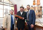 FOTO La visita a Cremona del sottosegretario Giancarlo Giorgetti
