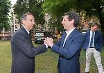 FOTO La visita a Cremona del sindaco di Milano Giuseppe Sala