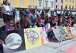 La Marcia per la pace con le scuole del territorio