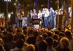 FOTO Piazza Roma gremita per il comizio di Matteo Salvini