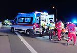 FOTO Le immagini del grave incidente avvenuto lungo la Paullese a Dovera
