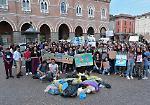FOTO Lo sciopero per il clima degli studenti a Casalmaggiore e Viadana