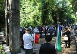 FOTO L'omaggio alle vittime del bombardamento del 1944 e dei morti per Covid