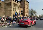 FOTO 1000 Miglia a Pandino, le Ferrari sfilano in paese