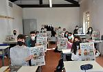 FOTO Il 'Quotidiano in classe' all'istituto Stanga