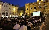 Maxi schermo in piazza a Casalmaggiore