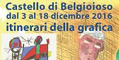 """""""La matita grassa"""" al Castello di Belgioioso (Pv)Mostra Mercato di acqueforti, matite grasse e libri d'artista"""