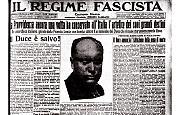 Fallito tentativo di assassinio a Benito Mussolini