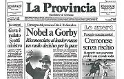 Michail Gorbačëv riceve il Premio Nobel per la pace