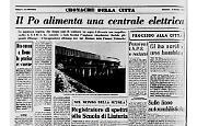 II Po a Isola Serafini:l'impianto idroelettrico fluviale più grande d'Europa