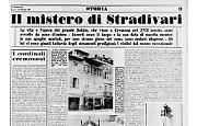 Il mito di Antonio Stradivari aleggia nel mistero