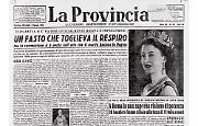 L'incoronazione di Elisabetta II e la Festa della Repubblica Italiana