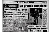 Felice Gimondi ha vinto il Tour de France