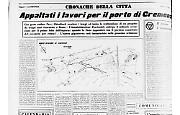Appaltati i lavori per il porto di Cremona