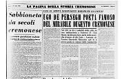Ugo De Perseghi, poeta cremonese del '200, ingiustamente caduto nell'oblìo