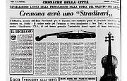 """Uno """"Stradivarius 1710"""" in dono alla città di Cremona"""