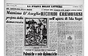 Ricordi cremonesi nell'opera della poetessa Ada Negri