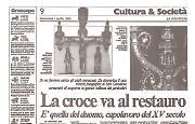 La magnifica croce della cattedrale di Cremona sarà restaurata ad opera degli orafi della città