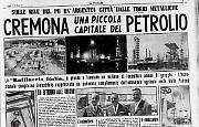 Cremona una piccola capitale del petrolio: «Raffineria Italia», l'argentea «città dei tubi»