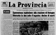 Spaventosa esplosione alla stazione di Bologna: 85 morti e 200 feriti
