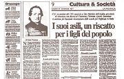 Nel 1791 nasceva Ferrante Aporti, il 'padre' degli asili per il popolo