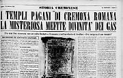Nella Cremona romana era venerata una misteriosa dea: Mefite. Ma dove sorgeva il tempio a lei dedicato?