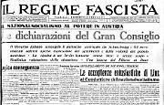 E' il giorno dell'Anschluss: la Germania dichiara l'annessione dell'Austria