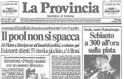 Ratzenberger perde la vita durante le prove del Gran Premio di San Marino di Formula 1