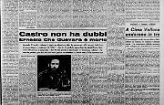Ernesto Che Guevara è morto