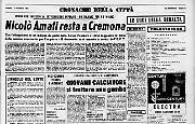 Nicolò Amati resta a CremonaRestituite 17.000 lire smarrite