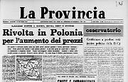 Rivolta in Polonia