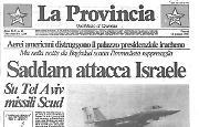 Saddam attacca Israele