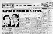 Rapito il figlio di Sinatra