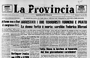 Arrestati i due terroristi Fornoni e Prato