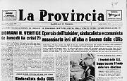 Operaio dell'ltalsider, sindacalista e comunista assassinato a Genova dalle «BR»