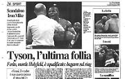 Tyson, l'ultima follia