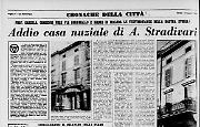 Addio casa nuziale di A. Stradivari