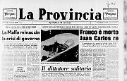 Franco è mortoJuan Carlos re