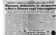Ripreso a Padova il processo per l'oro di Dongo