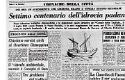 """Il 2 luglio 1263 venne firmata la """"pace fluviale"""""""