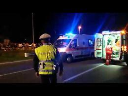 Il video dell'incidente di Romanengo